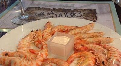 Photo of Mediterranean Restaurant Casa Rubio at Calle Puerta De Almodovar 5, Cordoba 14003, Spain