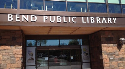Photo of Library Bend Public Library at 601 Nw Wall St, Bend, OR 97703, United States