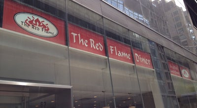 Photo of Other Venue Red Flame Diner at 67 W 44th St, New York, NY 10036