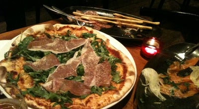 Photo of Pizza Place La Strada Pizzeria at 195 Anfu Rd., Shanghai, Ch, China