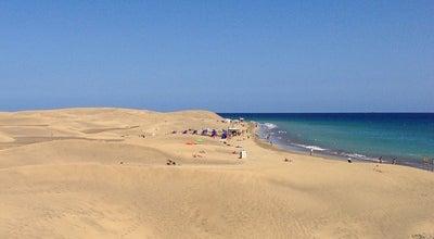 Photo of Beach Playa de Maspalomas at Av. Air Marín, S/n, Maspalomas 35290, Spain