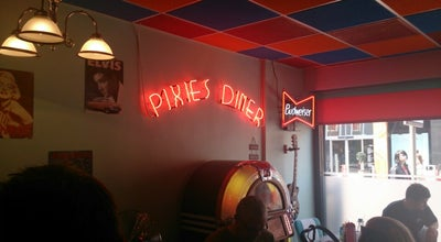 Photo of American Restaurant Pixies Diner at 176 Linthorpe Road, Middlesbrough TS1 3RB, United Kingdom