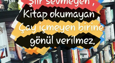 Photo of Bookstore Serüven Kitabevi at Turkey