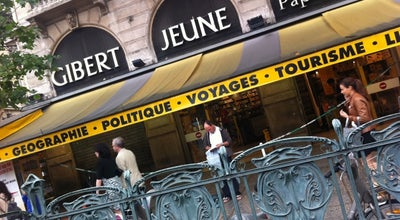 Photo of Bookstore Gibert Jeune at 5 Place Saint-michel, Paris 75005, France