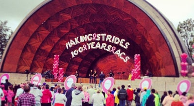 Photo of Music Venue DCR Hatch Memorial Shell at 1 David G Mugar Way, Boston, MA 02114, United States