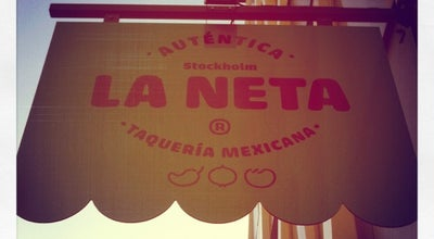 Photo of Mexican Restaurant La Neta at Östgötagatan 12b, Stockholm 116 25, Sweden