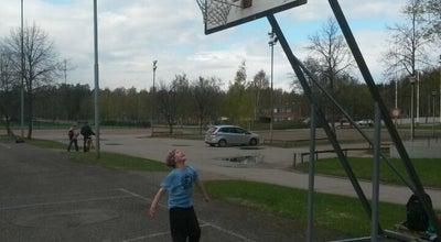 Photo of Basketball Court Steveco Areenan ulkokoripallokenttä at Ututie 4, Kotka 48350, Finland