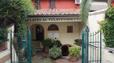 Photo of Italian Restaurant Flavio Al Velavevodetto at Via Di Monte Testaccio 97/99, Rome 00153, Italy