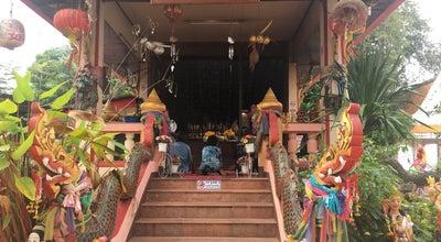Photo of Arcade ศาลเจ้าแม่สองนาง จังหวัดหนองคาย at Thailand