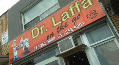 Photo of Middle Eastern Restaurant Dr Laffa On The Go at 3023 Bathurst St., Toronto, ON, Canada