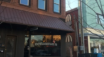 Photo of American Restaurant Benjamin's Coffeehouse & Bkshp at 49 E Court St, Franklin, IN 46131, United States
