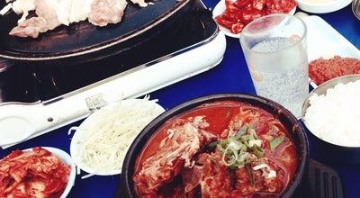 Photo of Korean Restaurant 신미식당 at 강남구 압구정로 214, 서울특별시 135-894, South Korea