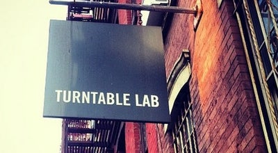 Photo of Record Shop Turntable Lab at 120 E 7th St, New York, NY 10009, United States