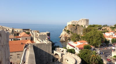 Photo of Historic Site Gradske Zidine (Walls of Dubrovnik) at Placa - Stradun, Dubrovnik 20000, Croatia