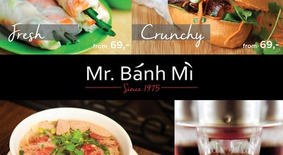 Photo of Asian Restaurant Mr. Banh Mi at Rumunska 23/30, Prague 120 00, Czech Republic