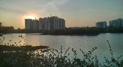 Photo of Lake Kaikondanahalli lake at Sarjapur Road, Bangalore, India