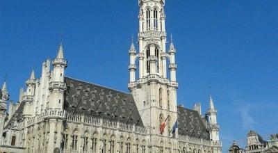 Photo of City Hall Hôtel de Ville de Bruxelles / Stadhuis Brussel at Grote Markt / Grand Place, Brussels 1000, Belgium