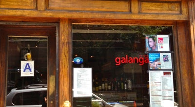 Photo of Asian Restaurant Galanga at 149 W 4th St, New York City, NY 10012, United States