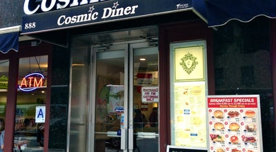 Photo of American Restaurant Cosmic Diner at 888 8th Ave, New York City, NY 10019, United States