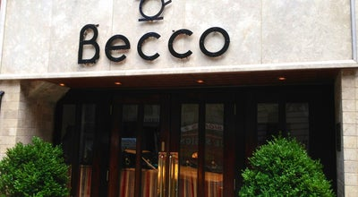 Photo of Italian Restaurant Becco at 355 W 46th St, New York, NY 10036, United States