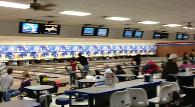 Photo of Bowling Alley Buffaloe Lanes North at 5900 Oak Forest Dr, Raleigh, NC 27616, United States