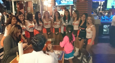Photo of American Restaurant Hooters at Av. Universidad 734, Benito Juárez 03650, Mexico