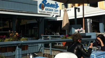 Photo of American Restaurant Sam's Anchor Cafe at 27 Main St, Tiburon, CA 94920, United States