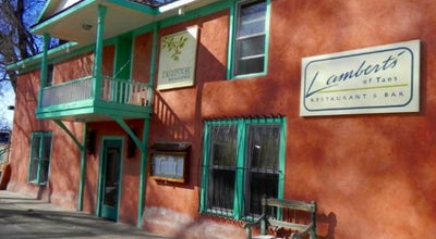 Photo of American Restaurant Lambert's of Taos at 123 Bent St, Taos, NM 87571, United States