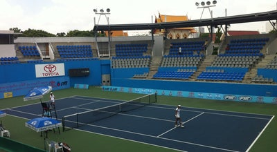 Photo of Tennis Court Lawn Tennis Association of Thailand at Muang Thong Thani, Pak Kret, Thailand