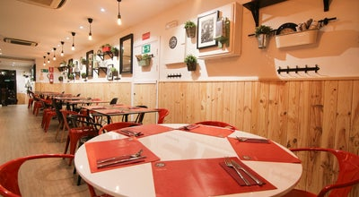 Photo of American Restaurant Goiko Grill at Avenida Del General Peron 16, Madrid 28020, Spain