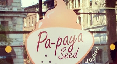 Photo of Other Venue Pa-Paya Seed Frozen Yogurt Cafe at 171 Lenox Ave, New York, NY 10026