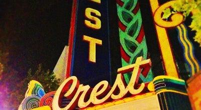 Photo of Movie Theater Crest Theatre at 1013 K St, Sacramento, CA 95814, United States