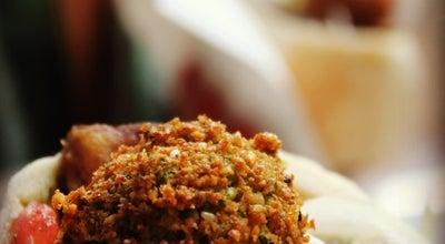 Photo of Falafel Restaurant Hakosem Falafel (פלאפל הקוסם) at 1 Shlomo Hamelech, Tel Aviv, Israel