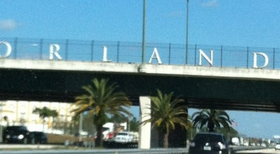 Photo of Monument / Landmark Orlando Sign at Interstate 4, Orlando, FL, United States
