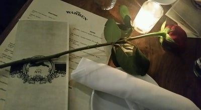 Photo of Restaurant The Warren NYC at 131 Christopher St, New York, NY 10014, United States