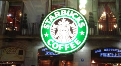 Photo of Coffee Shop Starbucks at Carrer De Ferran, 25, Barcelona 08002, Spain