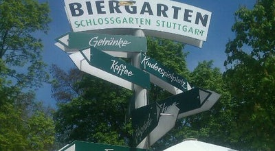 Photo of German Restaurant Biergarten im Schlossgarten at Am Schlossgarten 18, Stuttgart 70173, Germany