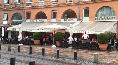 Photo of Italian Restaurant Pizza Pino at 15 Place Du Président Thomas Wilson, Toulouse 31000, France