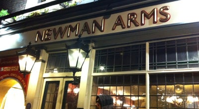 Photo of English Restaurant The Cornwall Project at The Newman Arms at 23 Rathbone Street, London W1T1NG, United Kingdom