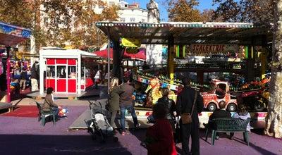 Photo of Theme Park Vogue des Marrons at Place De La Croix Rousse, Lyon 69004, France