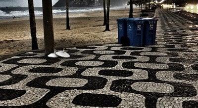 Photo of Pedestrian Plaza Calçadão de Ipanema at Av. Vieira Souto, Rio de Janeiro 22420-000, Brazil