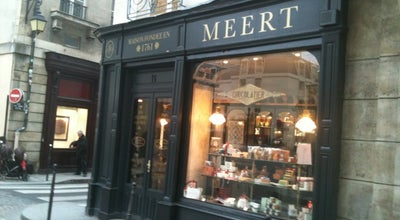 Photo of Tourist Attraction Meert at 16 Rue Elzevir, Paris 75003, France