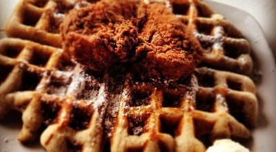 Photo of American Restaurant Dames Chicken & Waffles at 301 Martin Luther King Jr Dr, Greensboro, NC 27406, United States