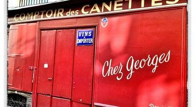 Photo of Nightclub Chez Georges at 11 Rue Des Canettes, Paris 75006, France