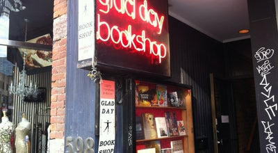 Photo of Bookstore Glad Day Bookshop at 598a Yonge St, toronto, on M4Y 1Z3, Canada