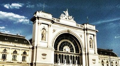 Photo of Train Station Keleti pályaudvar at Baross Tér 10., Budapest 1083, Hungary