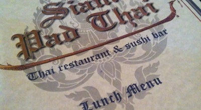 Photo of Asian Restaurant Siam Pad Thai at 3027 Wilmington Pike, Dayton, OH 45429, United States