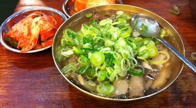 Photo of Korean Restaurant 하동관 at 중구 명동9길 12, 서울특별시 100-021, South Korea