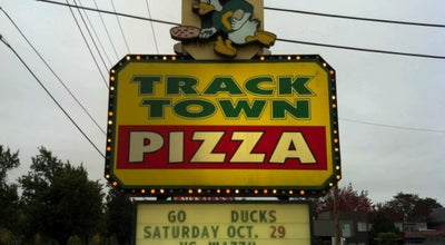 Photo of Pizza Place Track Town Pizza at 1809 Franklin Blvd, Eugene, OR 97403, United States