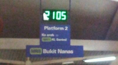 Photo of Light Rail RapidKL Bukit Nanas (MR8) Monorail Station at Jalan Sultan Ismail, Bukit Nanas 50450, Malaysia